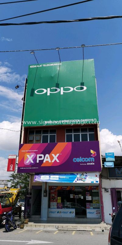 Giant Billboard Oppo
