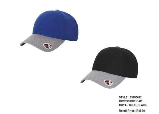 CREST LINK MICROFIBER CAP ROYAL/BLUE BLACK