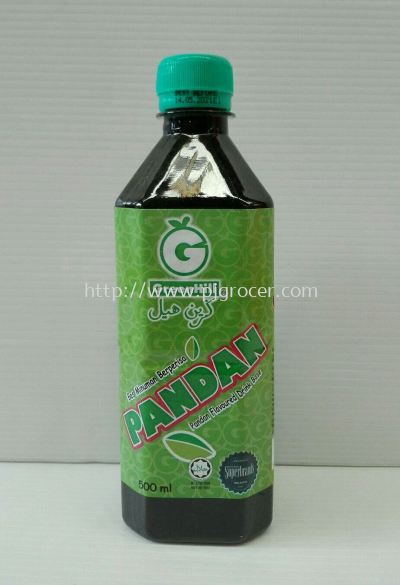 GreenHill Pandan Flavoured 500ml