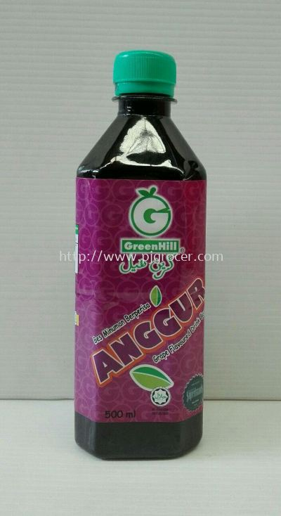 GreenHill Grape flavoured 500ml