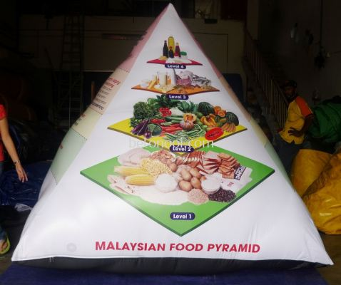 INFLATABLE FOOD PYRAMID