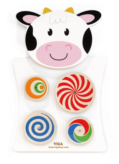 VG50677 Wall Mounted - Turning Patterns (Cow)