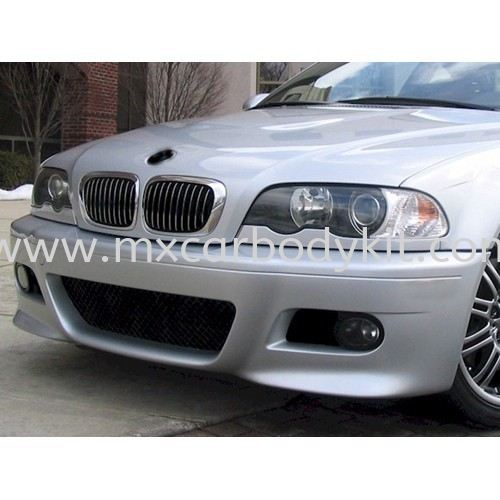 BMW 3 SERIES E46 1998 - 2005 M3 LOOK FRONT BUMPER WITH FOG LAMP  E46 (3 SERIES) BMW