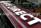 Outdoor Signboard 3D Lettering With LED  3D BOX UP LED SIGNAGE