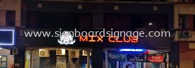 Outdoor Signboard With 3D LED Lettering (Exchange Colour)  3D Box Up LED Signage