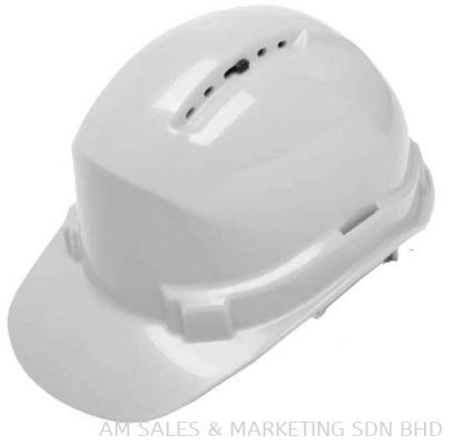 3M M-601S HARD HAT WITH CHIN STRAP, WHITE, SLIDE LOCK (OHHEDMM1100044)