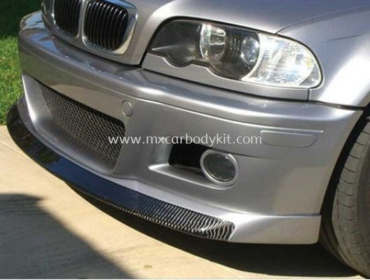 BMW 3 SERIES E46 1998 - 2005 M3 HC FRONT LIP