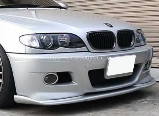 BMW 3 SERIES E46 1998 - 2005 M3 HAMAN LOOK FRONT LIP