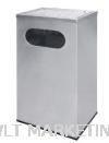 Stainless Steel rectangular Ashtray Bin RAS-053/A Stainless Steel Bin Hotel Supply