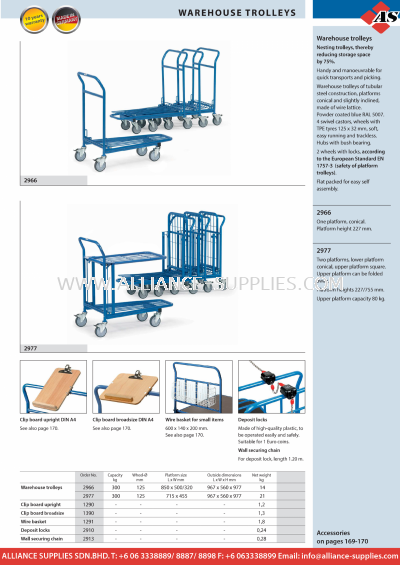 11.10.2 Warehouse Trolleys