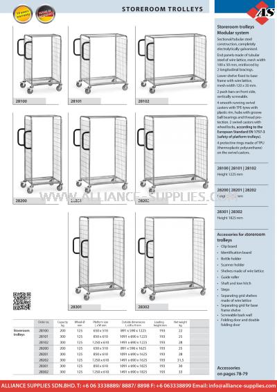 11.18.1 Storeroom Trolleys