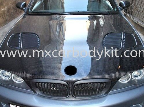 BMW 3 SERIES E46 1998 & 2002 ENGINE HOOD GTR  E46 (3 SERIES) BMW