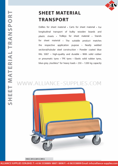 11.22 Sheet Material Transport