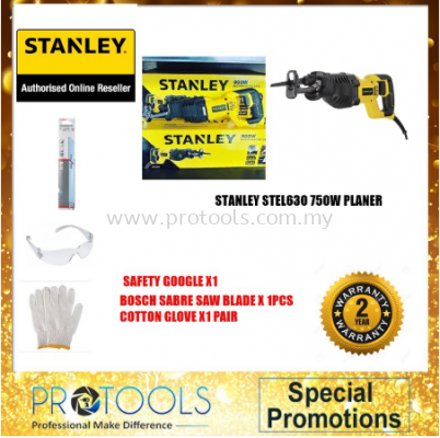 STANLEY STEL365 900W RECIPROCATING SAW - 2 years warranty