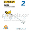 STANLEY SDR1400 1400W MUD MIXER - 2 years warranty Stanley Power Mixer