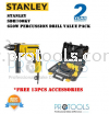 STANLEY SDH700KV 650W PERCUSSION DRILL VALUE PACK - 2 years warranty Stanley Drills & Drivers