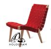 WM_0159 Lounge Chair Living Area Home Furniture