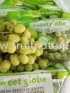 Grape Green Sweet Globe USA Grapes Fruits