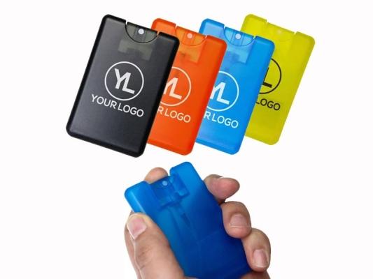 Credit Card Size Sanitizer Spray