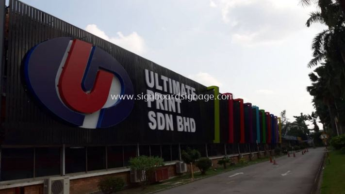 Ultimate Print Sdn Bhd, Signage