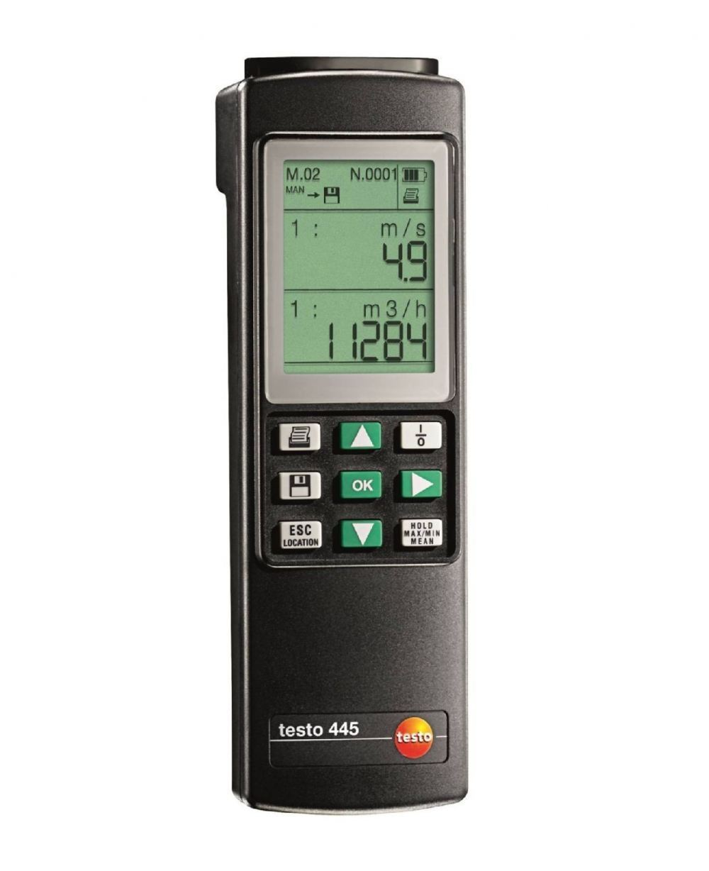 testo 445 - climate measuring instrument