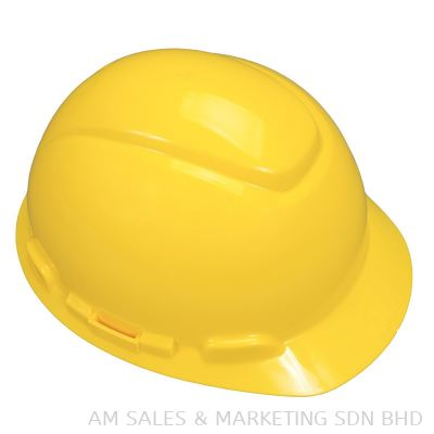 3M M-602R HARD HAT WITH CHIN STRAP, YELLOW, SLIDE LOCK (OHHEDMM1100047)