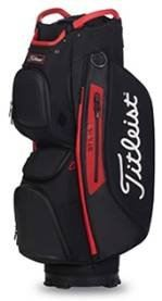 Titleist Cart 15 StaDry (Stock) Cart Bag Colour BLACK/ BLACK/ RED Model TB20CT7-006