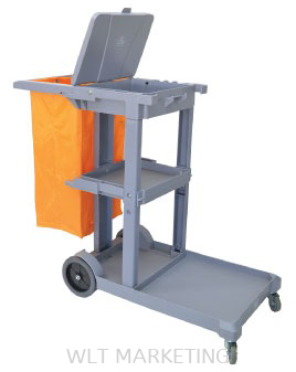 Janitor Cart c/w Cover