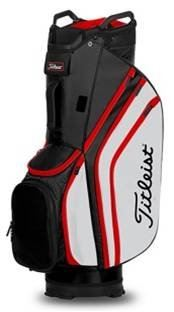 Titleist Cart 14 Lightweight Model TB20CT6-016 Color BLACK/ WHITE/ RED