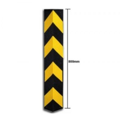 Rubber Corner Protector with Reflective 10MM (T) x 800MM (H) x 100MM (W)