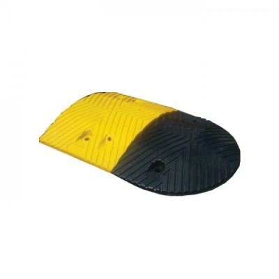 Rubber Speed Hump 250MM (L) x 350MM (W) x 50MM (H) (End Cap)