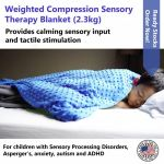WEIGHTED COMPRESSION THERAPY BLANKET (2.3KG)