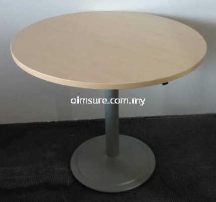 Round Table with Round Base