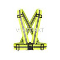 Elastic Safety Vest Orange / Yellow