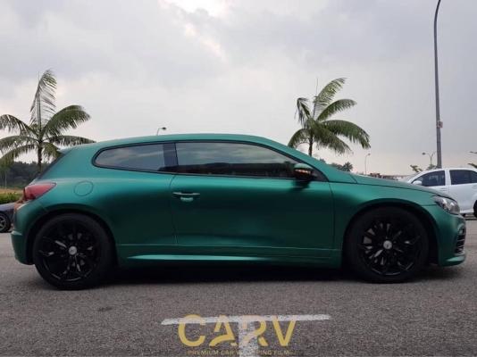 CARV1207 - Satin Metal Dark Green