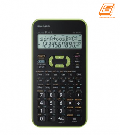 Sharp - EL-533X-GR  Scientific Calculator