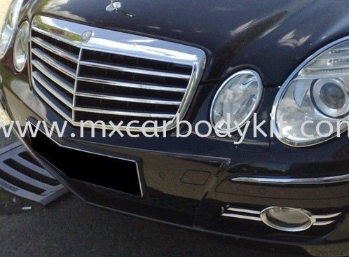MERCEDES BENZ W211 2007 AVANTGARDE LOOK FRONT BUMPER W211 (E CLASS) MERCEDES BENZ