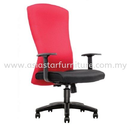 CHERRY FABRIC HIGH BACK OFFICE CHAIR - fabric office chair bangsar   fabric office chair kl sentral   fabric office chair au2 setiawangsa