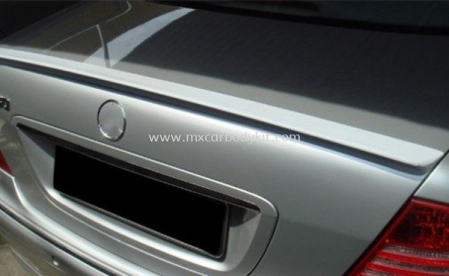 MERCEDES BENZ W220 1998 - 2005 REAR TRUNK SPOILER