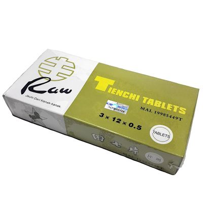 TIENCHI TABLETS 36'S (RAW)
