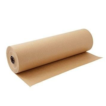 Kraft Paper Roll - Brown (Assorted Thickness & Width)