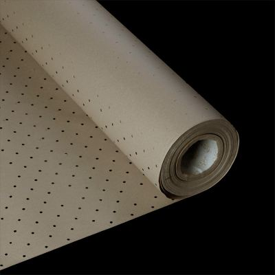 Kraft Paper with Holes - Brown (Assorted Thickness & Width)