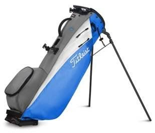 Titleist Players 4 Carbon Stand Bag PROCESS BLUE/ WHITE GREY TB20SX5-241