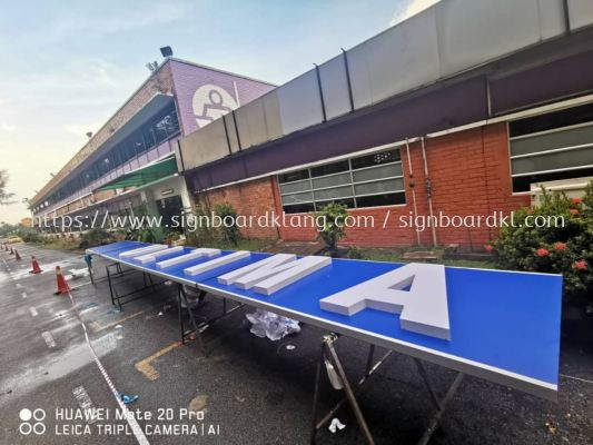 Ultimat Print sdn bhd 3D led channel box up lettering signboard signage at shah alam