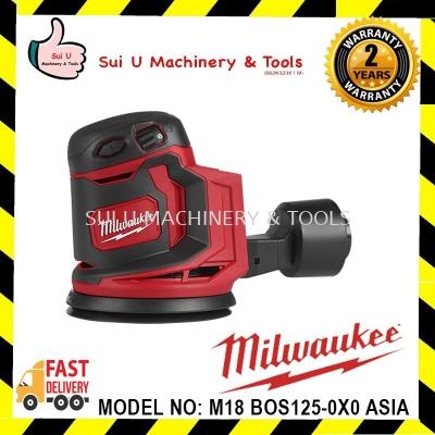 Milwaukee M18 BOX125-0X0 ASIA Fuel 125mm Orbit Sander (Bare)