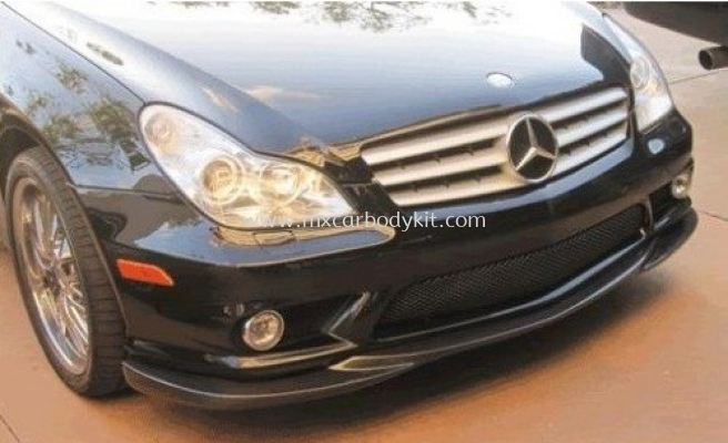 MERCEDES BENZ W219 2005 - 2010 AM FRONT BUMPER LIP CARBON