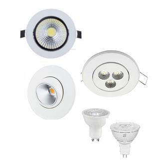 LED Ceiling Lamp/Eyeball/Cabinet Lighting