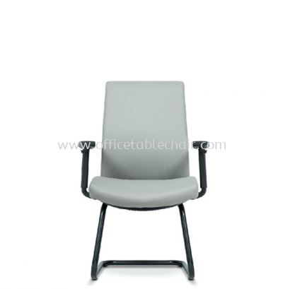 DARQUE EXECUTIVE VISITOR BACK CHAIR C/W EPOXY BLACK CANTILEVER BASE