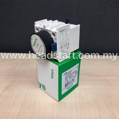 SCHNEIDER AUXILIARY CONTACT BLOCK TIME DELAY LADR0 MALAYSIA