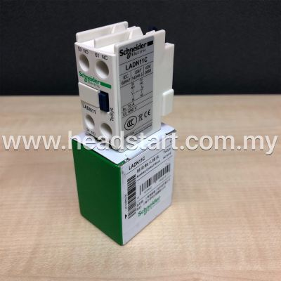 SCHNEIDER AUXILIARY CONTACTOR LADN11C MALAYSIA